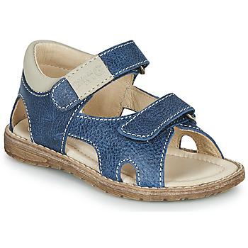 Pantofi Băieți Sandale  Primigi 5410222 Albastru / Gri