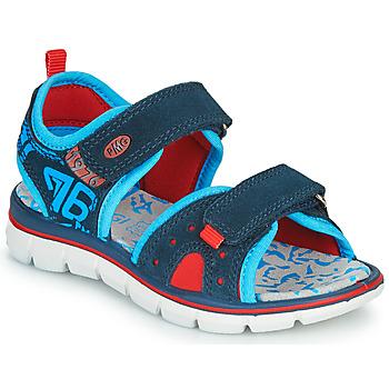 Pantofi Băieți Sandale  Primigi 5392822 Albastru / Albastru / Roșu