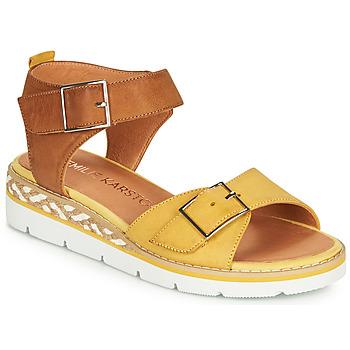 Pantofi Femei Sandale  Karston KICHOU Galben / Maro