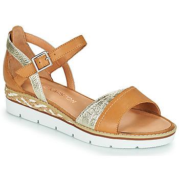 Pantofi Femei Sandale  Karston KILGUM Maro / Argintiu