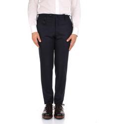 Îmbracaminte Bărbați Pantaloni de costum Incotex 1AT091 1721T Blue