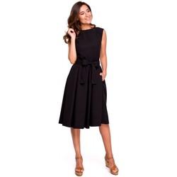 Îmbracaminte Femei Rochii Style S161 Rochie plisată cu spatele înfășurat - negru