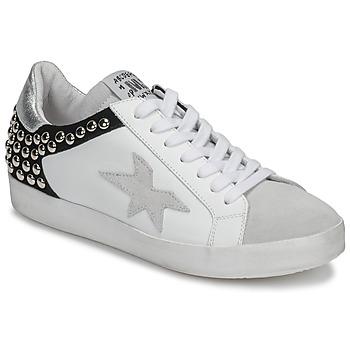 Pantofi Femei Pantofi sport Casual Meline GELLABELLE Alb / Negru