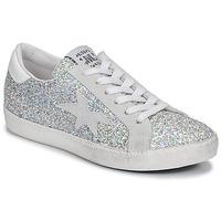 Pantofi Femei Pantofi sport Casual Meline GARAMINE Alb / Argintiu