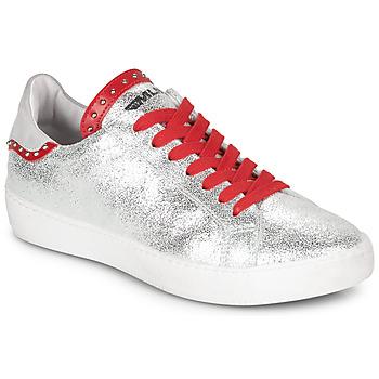 Pantofi Femei Pantofi sport Casual Meline GARILOU Argintiu / Roșu