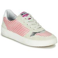 Pantofi Femei Pantofi sport Casual Meline GUILI Bej / Roșu