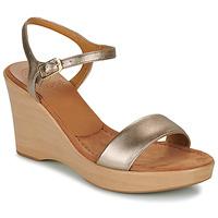 Pantofi Femei Sandale  Unisa RITA Argintiu