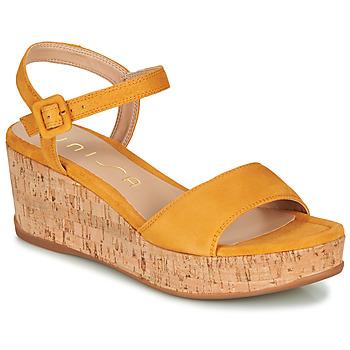 Pantofi Femei Sandale  Unisa KOME Galben