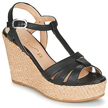Pantofi Femei Sandale  Unisa MACA Negru