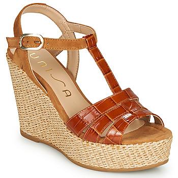 Pantofi Femei Sandale  Unisa MACA Camel