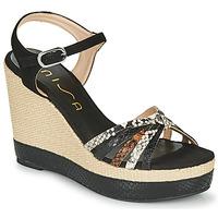 Pantofi Femei Sandale  Unisa MIRELLA Negru