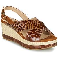 Pantofi Femei Sandale  Unisa KASTRO Camel