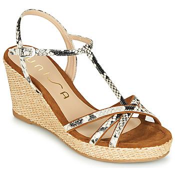 Pantofi Femei Sandale  Unisa LLINAR Piton