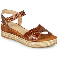 Pantofi Femei Sandale  Unisa GRANADA Camel
