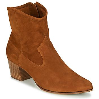 Pantofi Femei Botine Unisa GALVEZ Camel