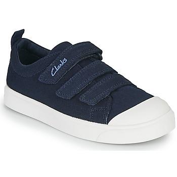 Pantofi Copii Pantofi sport Casual Clarks CITY VIBE K Bleumarin