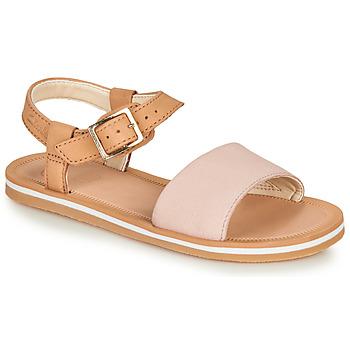 Pantofi Fete Sandale  Clarks SKYLARKHOPE K Roz