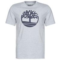 Îmbracaminte Bărbați Tricouri mânecă scurtă Timberland SS KENNEBEC RIVER BRAND TREE TEE Gri
