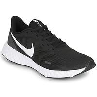 Pantofi Bărbați Trail și running Nike REVOLUTION 5 Negru / Alb