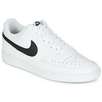 Pantofi Bărbați Pantofi sport Casual Nike COURT VISION LOW Alb / Negru