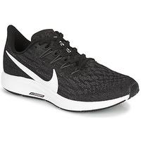 Pantofi Femei Trail și running Nike ZOOM PEGASUS 36 Negru / Alb