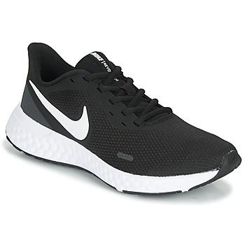 Pantofi Femei Trail și running Nike REVOLUTION 5 Negru / Alb