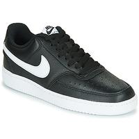 Pantofi Femei Pantofi sport Casual Nike COURT VISION LOW Negru / Alb