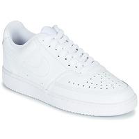 Pantofi Femei Pantofi sport Casual Nike COURT VISION LOW Alb