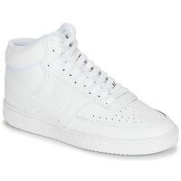 Pantofi Femei Pantofi sport stil gheata Nike COURT VISION MID Alb