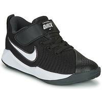 Pantofi Copii Multisport Nike TEAM HUSTLE QUICK 2 PS Negru / Alb