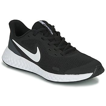 Pantofi Copii Pantofi sport Casual Nike REVOLUTION 5 GS Negru / Alb