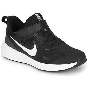 Pantofi Copii Pantofi sport Casual Nike REVOLUTION 5 PS Negru / Alb