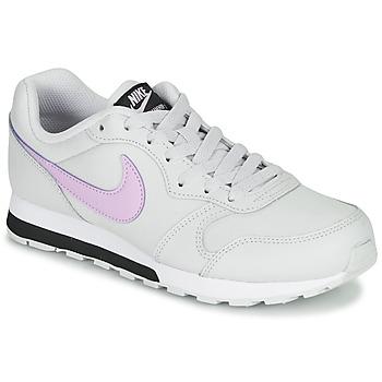 Pantofi Fete Pantofi sport Casual Nike MD RUNNER GS Alb / Roz
