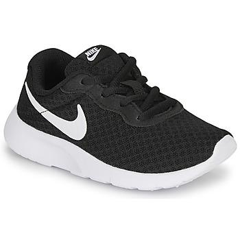 Pantofi Copii Pantofi sport Casual Nike TANJUN PS Negru / Alb