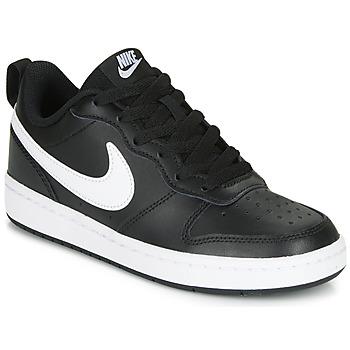 Pantofi Copii Pantofi sport Casual Nike COURT BOROUGH LOW 2 GS Negru / Alb