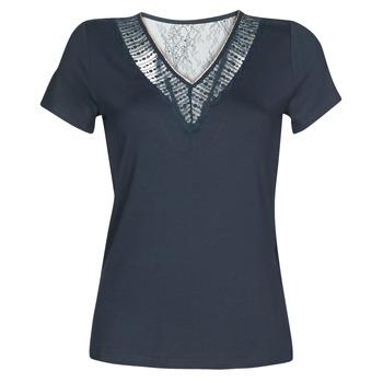 Îmbracaminte Femei Tricouri mânecă scurtă Morgan DOHAN Bleumarin