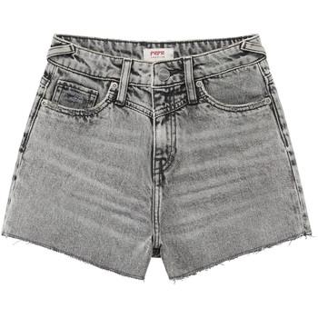 Îmbracaminte Fete Pantaloni scurti și Bermuda Pepe jeans ROXIE Gri