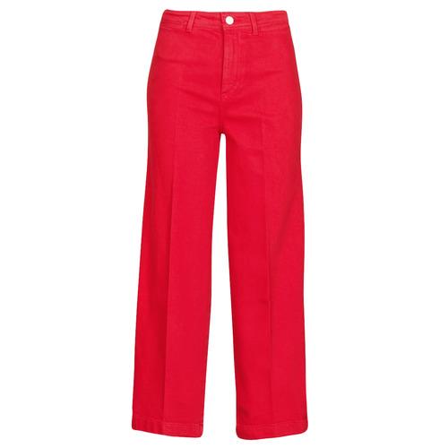 Îmbracaminte Femei Jeans bootcut Tommy Hilfiger BELL BOTTOM HW CCLR Roșu