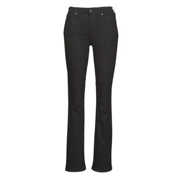 Îmbracaminte Femei Jeans bootcut Levi's 725 HIGH RISE BOOTCUT Negru