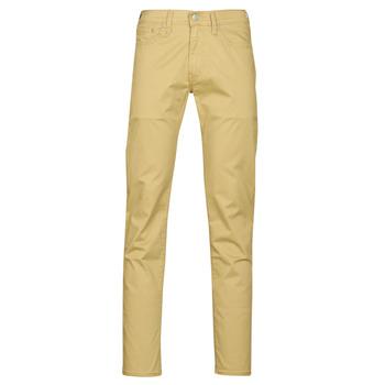 Îmbracaminte Bărbați Pantalon 5 buzunare Levi's 511 SLIM FIT Bej