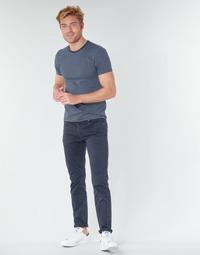 Îmbracaminte Bărbați Pantalon 5 buzunare Levi's 511 SLIM FIT Bleumarin