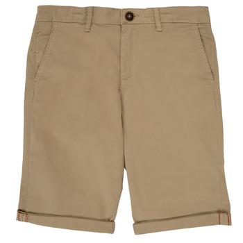 Îmbracaminte Băieți Pantaloni scurti și Bermuda Jack & Jones JJIBOWIE Bej