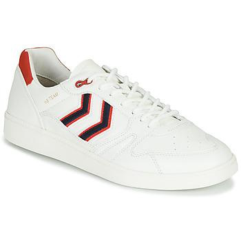 Pantofi Bărbați Pantofi sport Casual Hummel HB TEAM CREST Alb