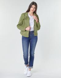 Îmbracaminte Femei Jeans drepti G-Star Raw MIDGE MID STRAIGHT WMN Kaki
