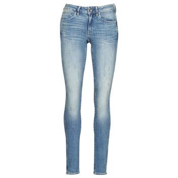 Îmbracaminte Femei Jeans skinny G-Star Raw MIDGE ZIP MID SKINNY WMN Albastru