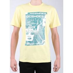 Îmbracaminte Bărbați Tricouri mânecă scurtă DC Shoes DC SEDYZT03769-YZL0 yellow