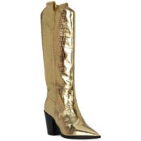 Pantofi Femei Cizme casual Priv Lab COCCO ORO Beige