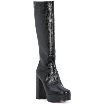 Pantofi Femei Cizme casual Priv Lab NERO COCCO Nero