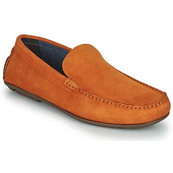 Pantofi Bărbați Mocasini André BIOUTY Portocaliu