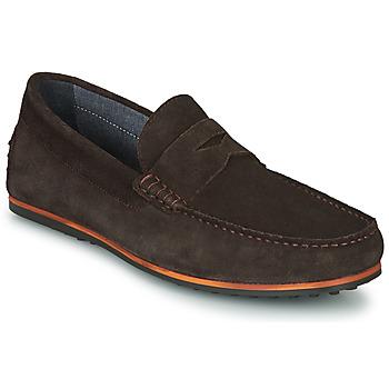 Pantofi Bărbați Mocasini André SKY Maro